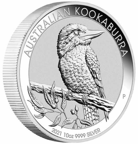 Kookaburra 10 Unzen Silber 2021*