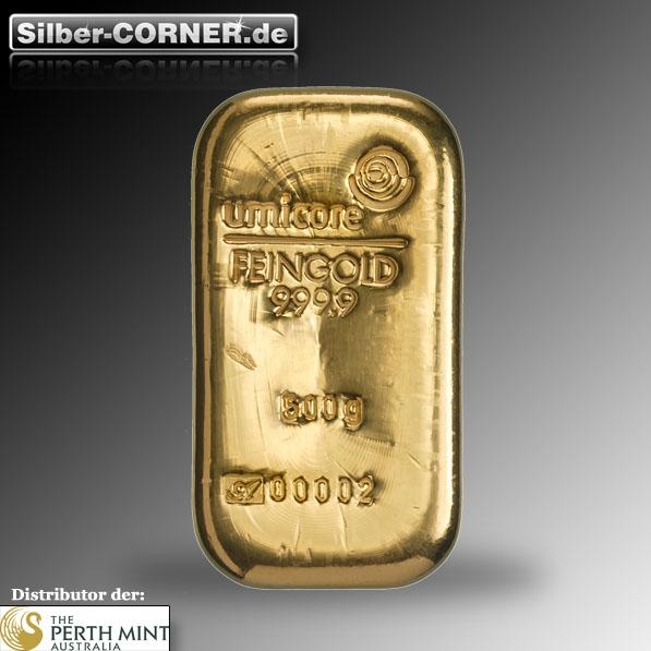 Goldbarren 500 Gramm Umicore