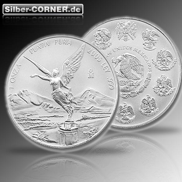 Mexico Libertad 5 Oz Silber diverse Jahrgänge*