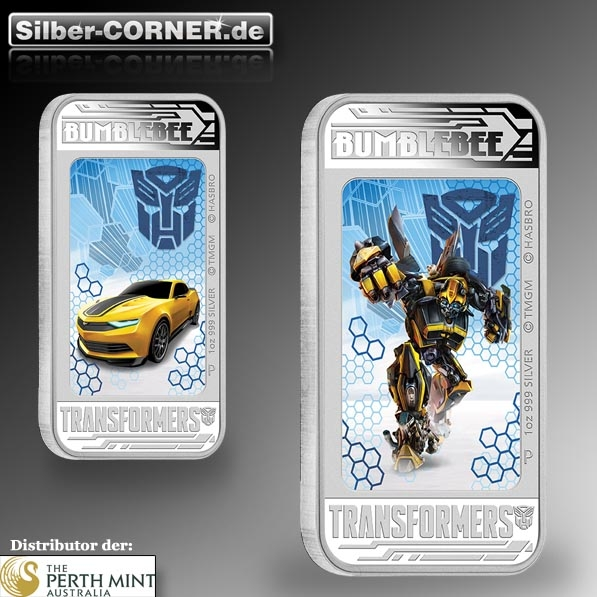 Bumble Bee 1 Oz SIlber