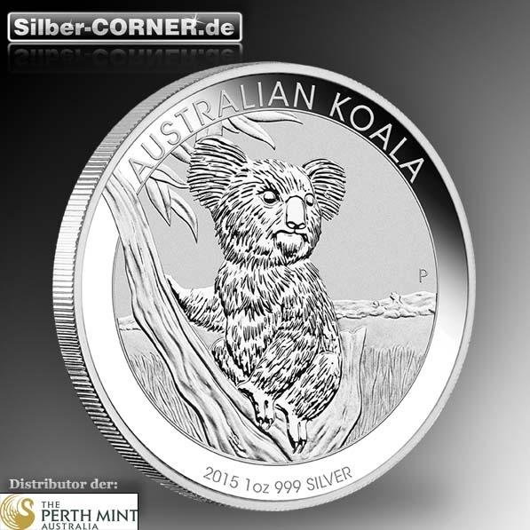 Koala 2015 1 Oz Silber *