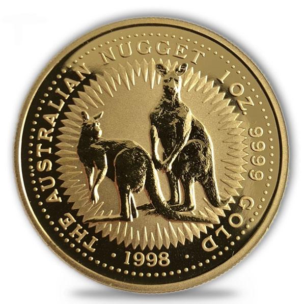 1 Oz Gold Känguru 1998