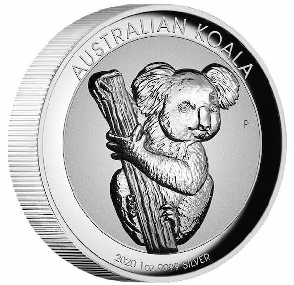 Koala 1 Oz Silber INCUSE High Relief 2020 + Box +Zertifikat*