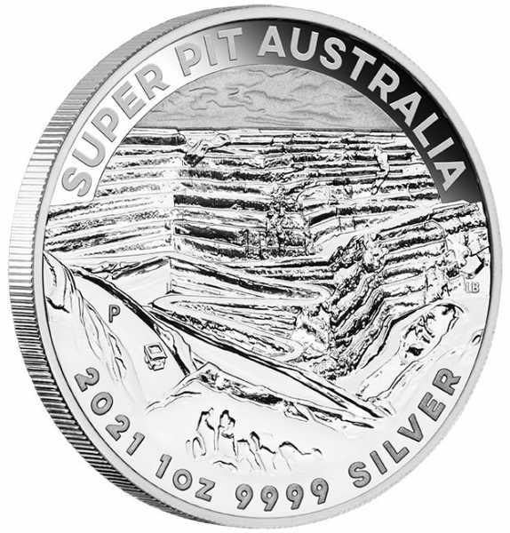 Super Pit 2021 1 Unze Silbermünze