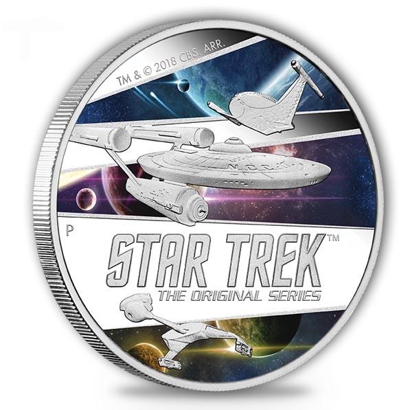Star Trek- Originals - Ships - 2 Unzen Silber + Box +COA*