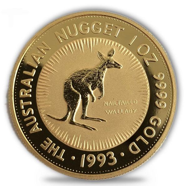 1 Oz Gold Känguru 1993