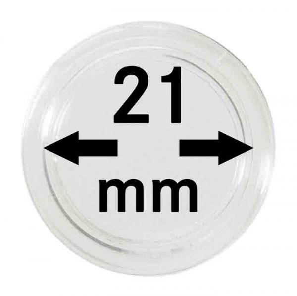 Münzkapsel 21mm