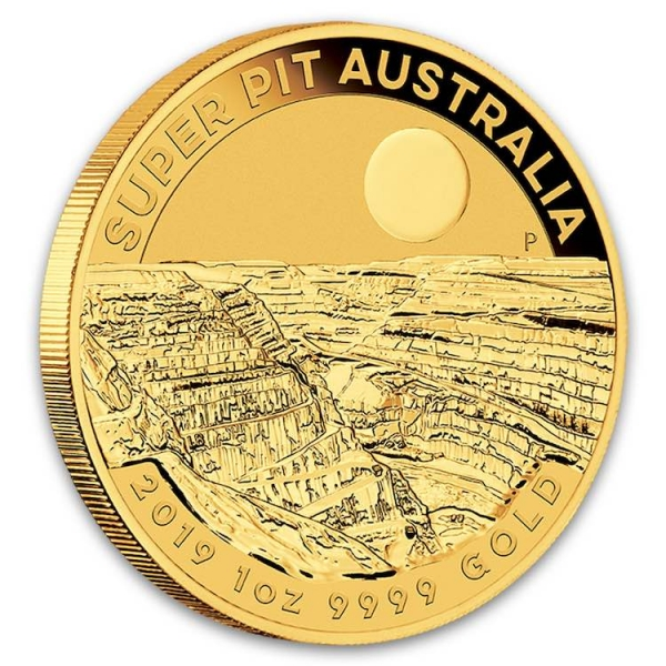 Australien Super Pit 1 Oz Gold 2019