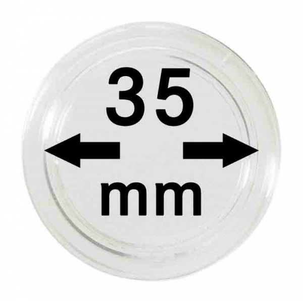 Münzkapsel 35mm