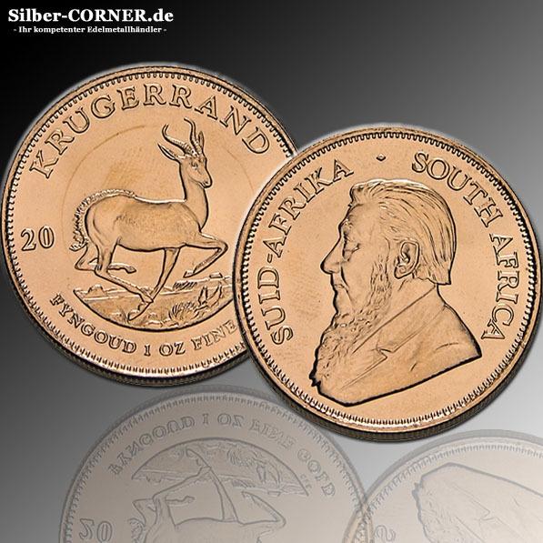 10 x 1/10 Oz Gold Krügerrand 2020