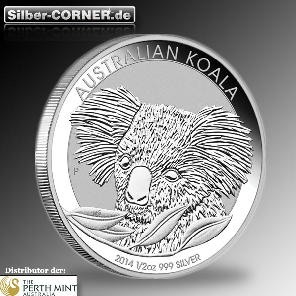 Koala 2014 1/2 Oz Silber