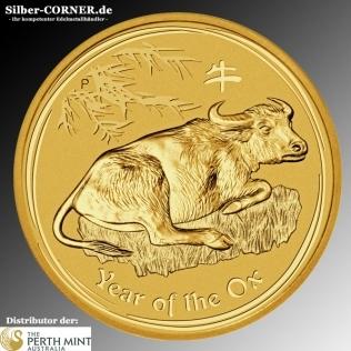 Lunar Ochse 2 Oz Gold