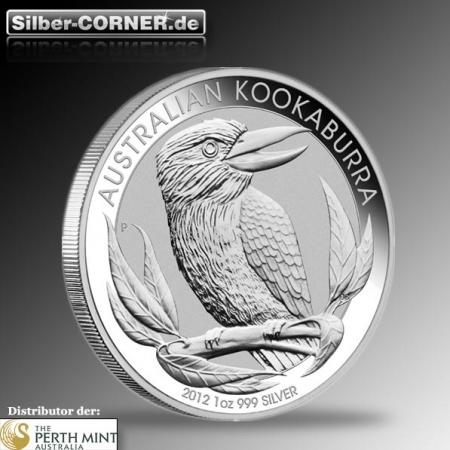 2012 Kookaburra Perth Mint 1 Oz