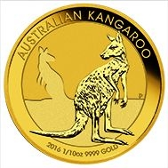 1/10 Goldmünze Australien Känguru
