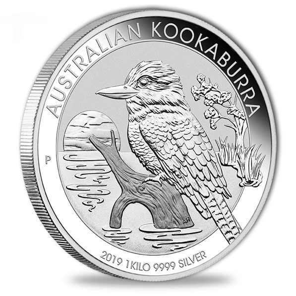 Kookaburra 1 KG Silbermuenze 2019