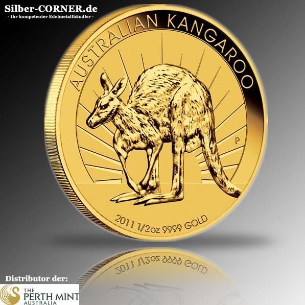 Känguru 1/2 Oz Gold 2011