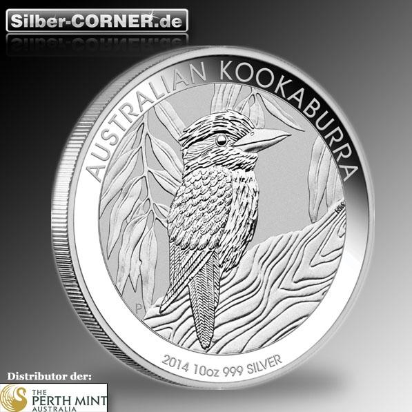 Kookaburra 2014 10 Oz Silber *