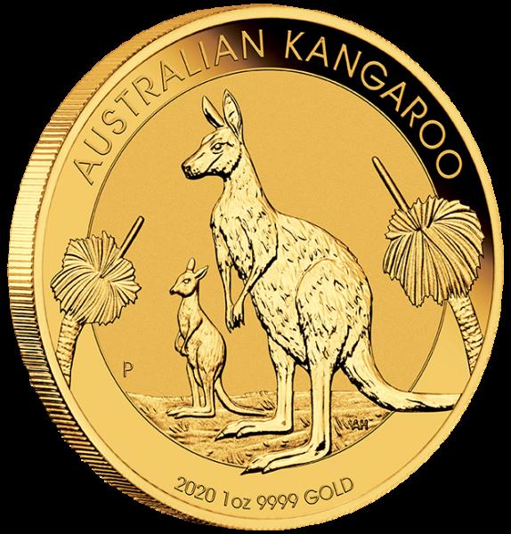 1 Oz Gold Känguru 2020