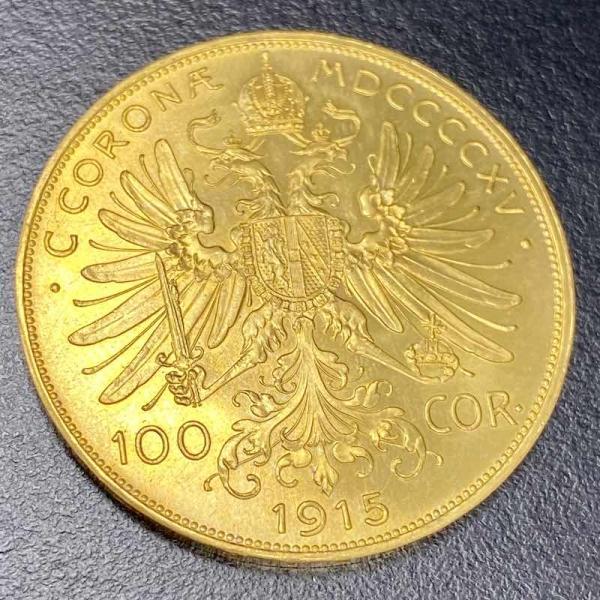Gold ÖS 100 Kronen (Österreich)
