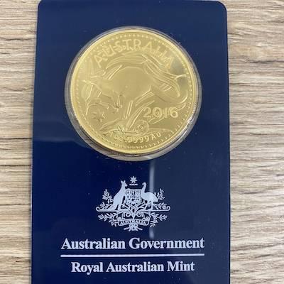 1 Oz Gold Känguru Royal Australian Mint 2016