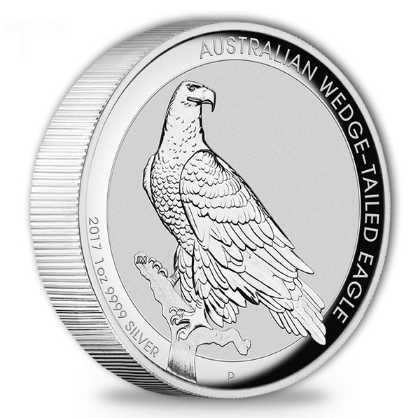 Wedge Tailed Eagle 1 Oz Silber 2017 High Relief *