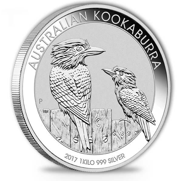 Kookaburra 1 KG Silbermünze 2017 kaufen