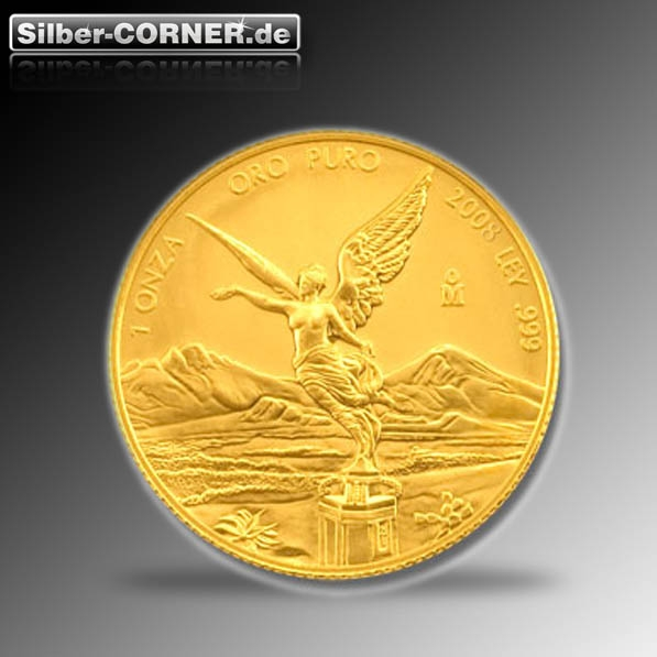 1/20 Oz Gold Libertad Mexiko verschiedene Jahrgänge