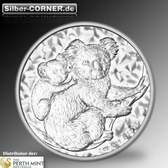 1 Kg Silber Koala 2008