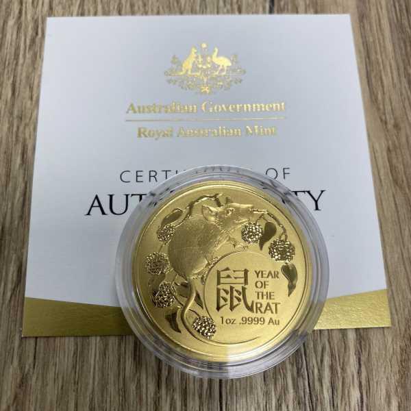 1 Oz Gold Royal Australian Mint Maus 2020