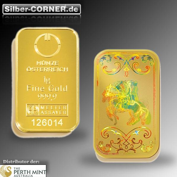 1 Gramm Lipizzaner Gold