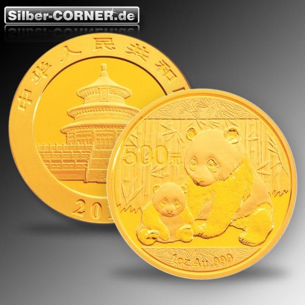 China Panda 2012 1 Oz Gold