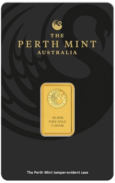 Perth Mint 5 Gramm Goldbarren
