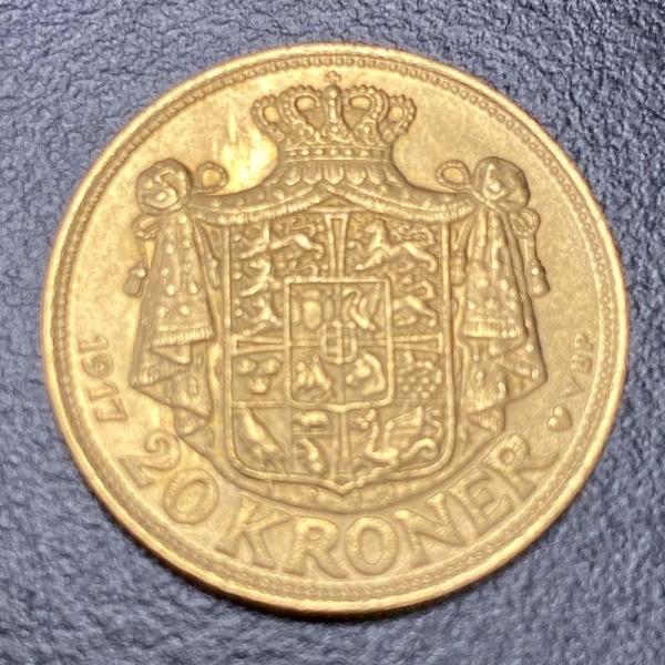 Gold 20 Kr Christian X Dänemark