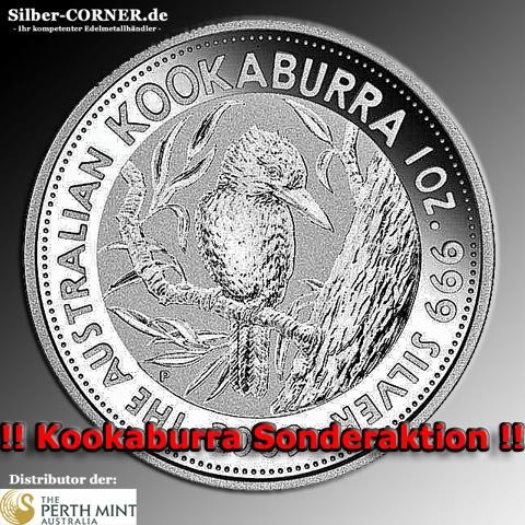 1991 Kookaburra Silber 1 Unze
